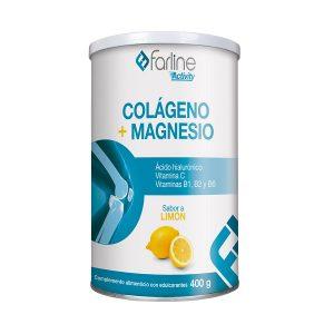 Colágeno + Magnesio Farline Sabor a Limón 400 g