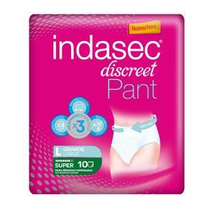 Indasec Discreet Pant Super Talla L 10 unidades