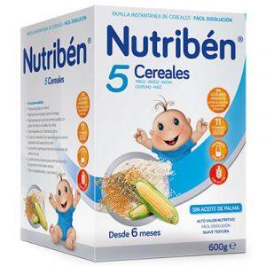 Nutribén® 5 Cereales 600 g