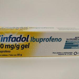 Cinfadol Ibuprofeno 50 mg/g gel 50 g