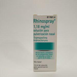 Rhinospray 1,18 mg/ml solución para pulverización nasal 12 mL