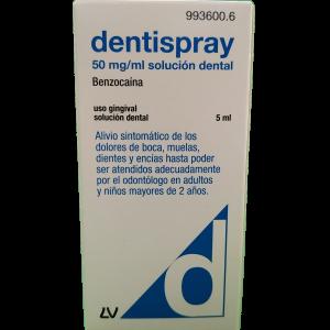 Dentispray 50 mg/ml solución dental 5 mL