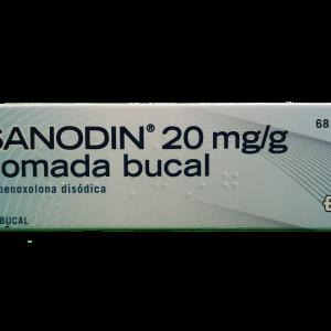 Sanodin 20 mg/g pomada bucal 15 g