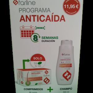 Programa Anticaída 56 Comprimidos + Champú 500 mL
