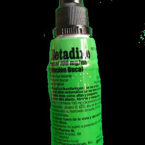 Betadine Bucal 100 mg/ml Solución Bucal 125 mL