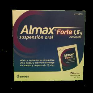 Almax Forte 1,5 g 24 Sobres suspensión oral
