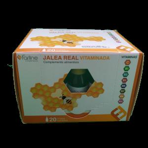 Jalea Real Vitaminada 20 viales Farline