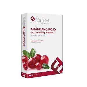 Arándano Rojo con D-manosa y Vitamina C 30 cápsulas