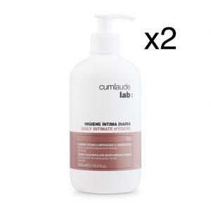 Duplo Gel Limpiador Hidratante y Protector 500 mL Cumlaude